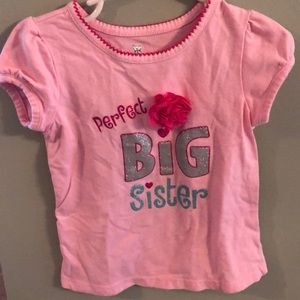 Koala kids big sis t shirt